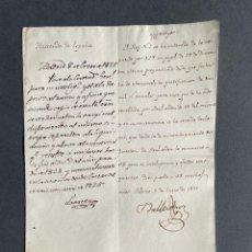 Manuscritos antiguos: 1825 - DOCUMENTO MANUSCRITO DE PALACIO SOBRE LAS RENTAS DEL REY -. Lote 250118565