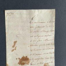 Manuscritos antiguos: 1810 - NICETO LARRETA - NOMBRAMIENTO COMISARIO DE LOS EJERCITOS - GUERRA DE INDEPENDENCIA. Lote 250119365