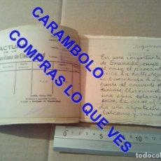Manuscritos antiguos: JOSE LAGUILLO BONILLA MANUSCRITO INEDITO UN NUEVO SITIO DE TROYA SEVILLA 1959 U42. Lote 251523010