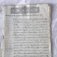 Manuscritos antiguos: DOCUMENTACIÓN MANUSCRITA DE REUS Y ARQUEBISBAT DE TARRAGONA 1820. FIRMAS.. Lote 252111235
