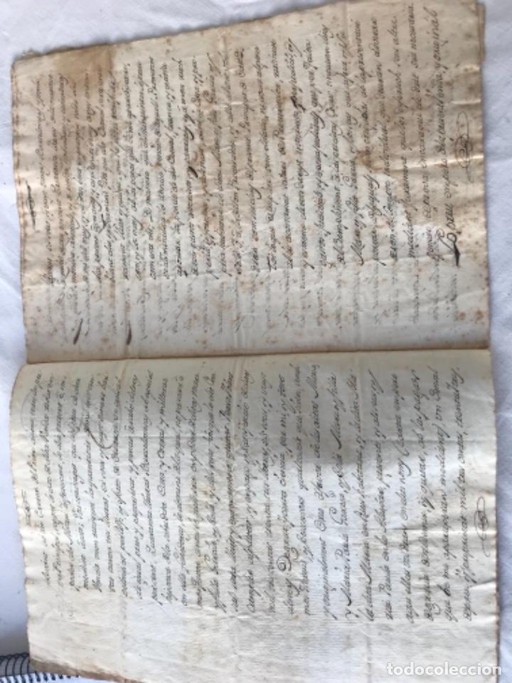 Manuscritos antiguos: DOCUMENTACIÓN MANUSCRITA CREACIÓN CENSAL REUS TARRAGON 1800 - Foto 3 - 252430020