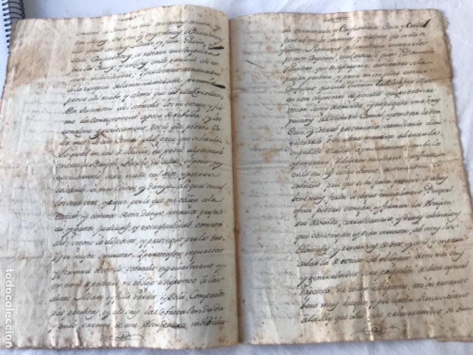 Manuscritos antiguos: DOCUMENTACIÓN MANUSCRITA CREACIÓN CENSAL REUS TARRAGON 1800 - Foto 4 - 252430020