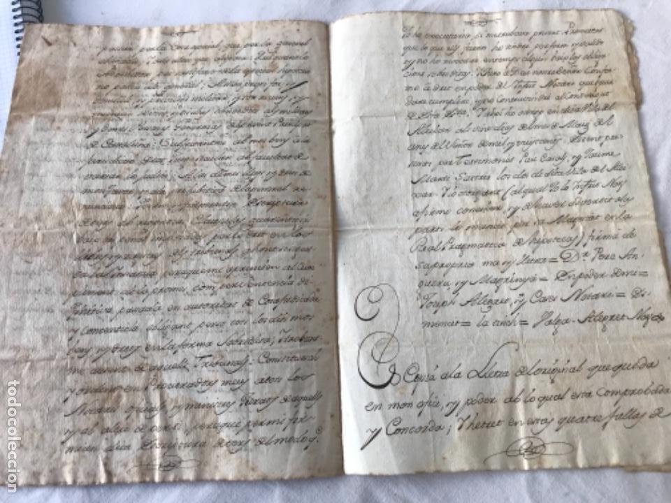 Manuscritos antiguos: DOCUMENTACIÓN MANUSCRITA CREACIÓN CENSAL REUS TARRAGON 1800 - Foto 5 - 252430020