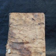 Manuscritos antiguos: INSTRUTIONIS SACERDOTUM. ANTIGUO LIBRO ENCICLOPÉDICO. L1. Lote 253085365