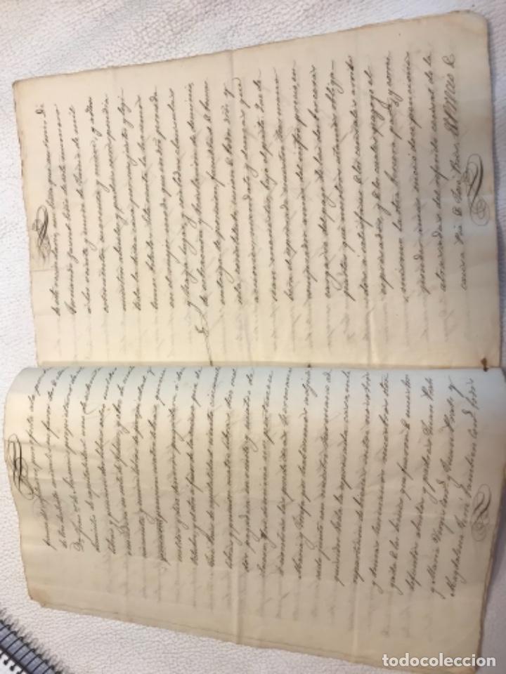 Manuscritos antiguos: DOCUMENTACIÓN MANUSCRITA ESCRITURA DE VENTA 1843 REUS TARRAGONA. - Foto 3 - 253228240