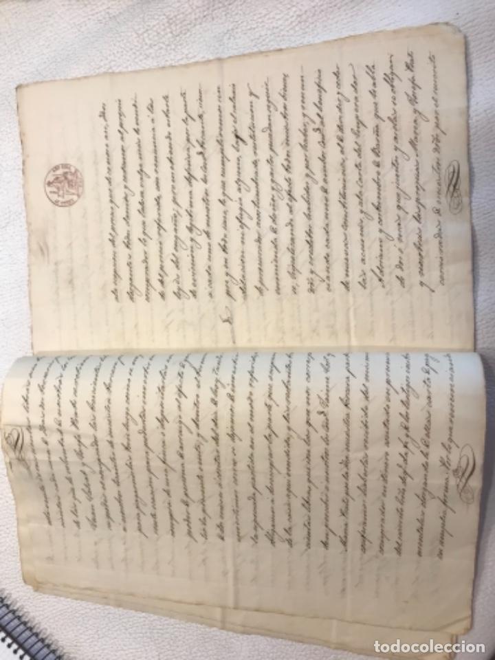 Manuscritos antiguos: DOCUMENTACIÓN MANUSCRITA ESCRITURA DE VENTA 1843 REUS TARRAGONA. - Foto 4 - 253228240