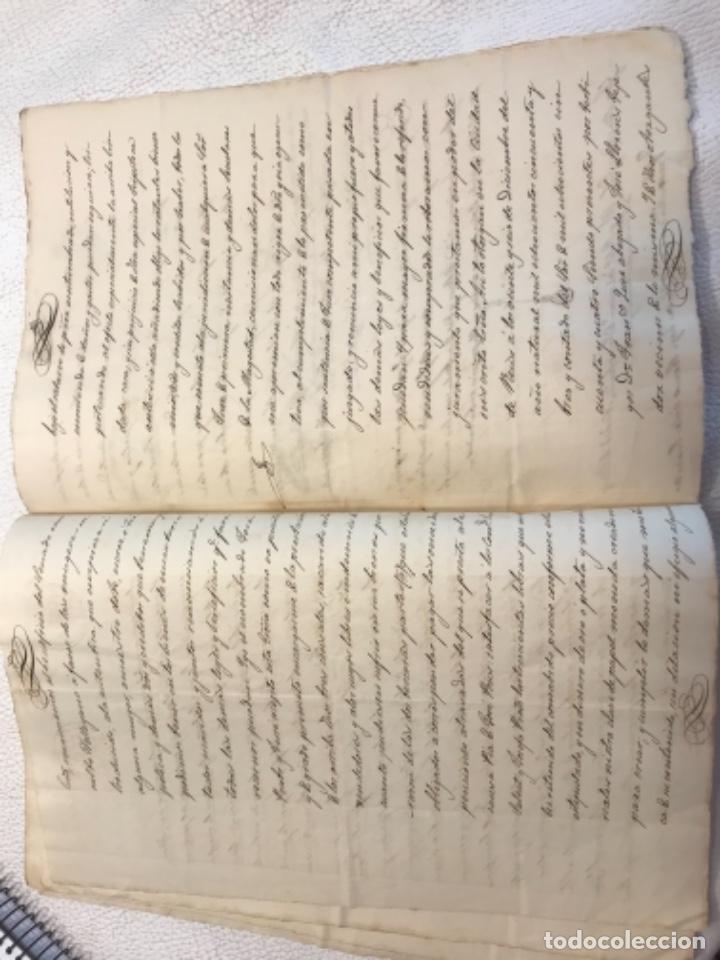 Manuscritos antiguos: DOCUMENTACIÓN MANUSCRITA ESCRITURA DE VENTA 1843 REUS TARRAGONA. - Foto 5 - 253228240