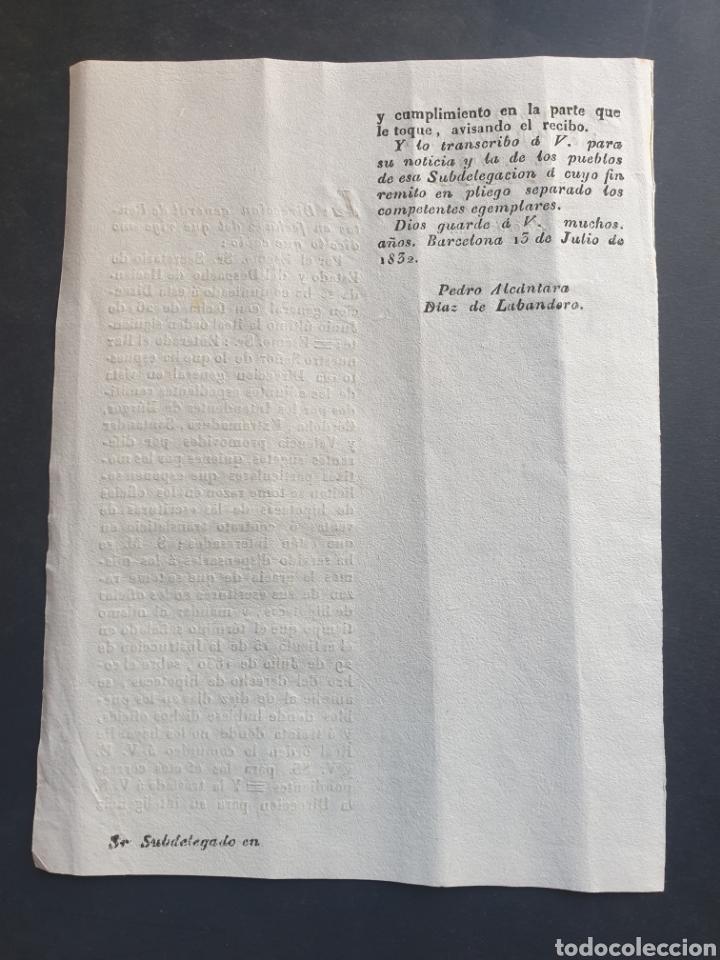 Manuscritos antiguos: Expedientes Burgos Córdoba Extremadura Santander Valencia 1832 Siglo XIX Hipotecas escrituras - Foto 2 - 253233840