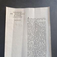 Manuscritos antiguos: EXPEDIENTES BURGOS CÓRDOBA EXTREMADURA SANTANDER VALENCIA 1832 SIGLO XIX HIPOTECAS ESCRITURAS. Lote 253233840