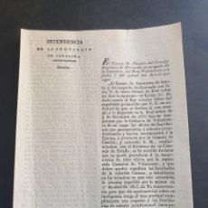 Manuscritos antiguos: NO A LA ENAJENACIÓN DEL LOS OFICIOS ESCRIBANIAS DE SEÑORÍO 1832 SIGLO XIX. Lote 253235985