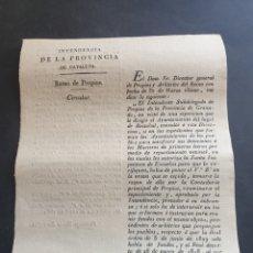 Manuscritos antiguos: AYUNTAMIENTOS DE LOS PUEBLOS PARA DOTACIÓN MAESTROS DE PRIMERAS LETRAS 1830 SIGLO XIX. Lote 253239915