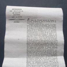 Manuscritos antiguos: RAMO PROPIOS Y ARBITRIOS ABANDONADOS Y INDEFENSOS 1830 SIGLO XIX. Lote 253303120