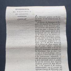 Manuscritos antiguos: EXPEDIENTE MOTIVO DUDA VISITADOR DE RENTAS DE JAÉN SOBRE PAPEL SELLADO 1830 SIGLO XIX. Lote 253308795