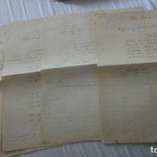 Manuscritos antiguos: ANTIGUAS CARTAS PEDIDOS.CERAMICA PICKMAN CIA.SEVILLA-VICENTE Y FRANCISCO REDON.LOGROÑO 1876. Lote 254288060