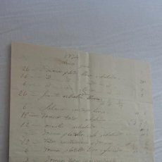 Manuscritos antiguos: ANTIGUA CARTA PEDIDOS.CERAMICA PICKMAN CIA.SEVILLA-FRANCISCO ENRICH? LOGROÑO 1865. Lote 254288355