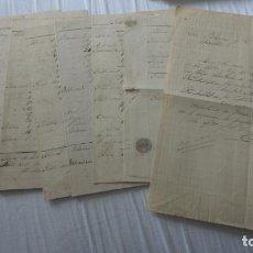 Manuscritos antiguos: ANTIGUAS CARTAS PEDIDOS.CERAMICA PICKMAN CIA.SEVILLA-PASCUAL F.DE TORRES.RIVADEO.RIBADEO.LUGO 1880. Lote 254288605