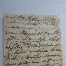 Manuscritos antiguos: ANTIGUA CARTA PEDIDOS.CERAMICA PICKMAN CIA.SEVILLA-ENRIQUE BUZZI? GRANADA 1870. Lote 254446450