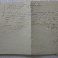 Manuscritos antiguos: ANTIGUAS CARTA PEDIDOS.CERAMICA PICKMAN CIA.SEVILLA-ISIDRO LIEVANA DIEZ.VALDEFUENTES MONTANCHEZ 1881. Lote 254454875