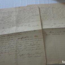 Manuscritos antiguos: ANTIGUAS CARTAS PEDIDOS CERAMICA PICKMAN CIA.SEVILLA-RAFAEL PAYA LLORET. IBI.ALICANTE 1899. Lote 254456160