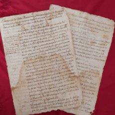 Manuscritos antiguos: VILAFRANCA PENEDES MANUSCRITO 1796 MASALLERAS HORT Y VIÑET/VEGUERIA PENEDES/ SUBVEGUERIO IGUALADA.. Lote 254601780