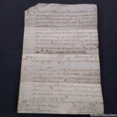 Manuscritos antiguos: CONTESTACIÓN A DIPUTADOS DE COLEGIOS Y GREMIOS DE BARCELONA. SIGLO XVIII CONDE ARANDA DUQUE DE ALBA. Lote 254605240