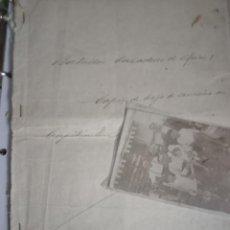 Manuscritos antiguos: ALBUM FOTOS MMELILLA HOJA SERVICIOS MILITAR CAPITÁN CONDECORADO B. CAZADORES ÁFRICA 3 SI XIX A 1936. Lote 255406295