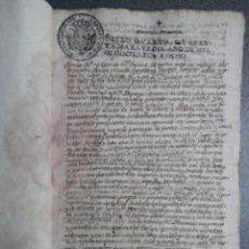 Manuscritos antiguos: 9 MANUSCRITOS AÑOS 1808 - 1809 FISCALES VARIADOS GUERRA INDEPENDENCIA 25 PÁGS GALICIA. Lote 257681015