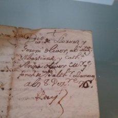 Manuscritos antiguos: MANUSCRITO . DIVISIÓN DE BIENES. AÑO 1774 (408). Lote 257685755