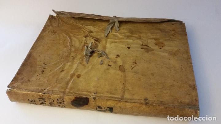 Manuscritos antiguos: MANUSCRITOS SIGLOS XVII Y XVIII CALLE MAYOR DE MADRID - Foto 2 - 262461245