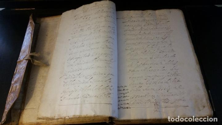 Manuscritos antiguos: MANUSCRITOS SIGLOS XVII Y XVIII CALLE MAYOR DE MADRID - Foto 5 - 262461245