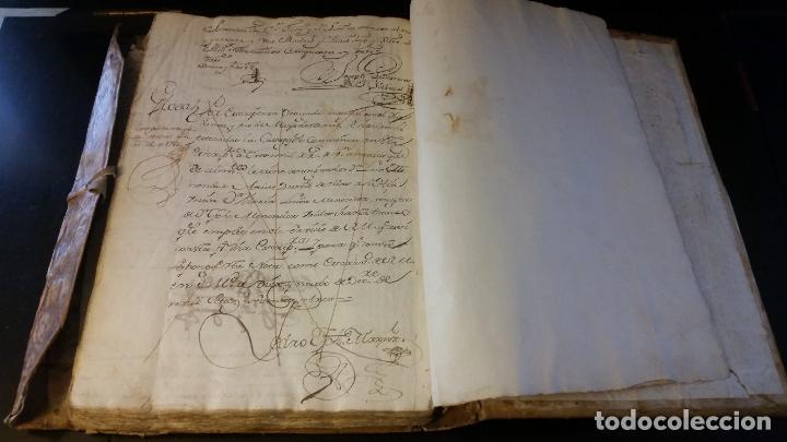 Manuscritos antiguos: MANUSCRITOS SIGLOS XVII Y XVIII CALLE MAYOR DE MADRID - Foto 11 - 262461245