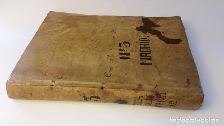 MANUSCRITOS SIGLOS XVII Y XVIII CALLE MAYOR DE MADRID (Coleccionismo - Documentos - Manuscritos)