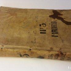 Manuscritos antiguos: MANUSCRITOS SIGLOS XVII Y XVIII CALLE MAYOR DE MADRID. Lote 262461245