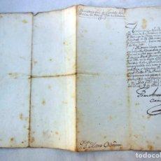 Manuscritos antiguos: NOMBRAMIENTO COMO FACTOR 1º DE PROVISIONES A MATEO ORDEMANA POR JUAN ANTONIO COMAT. 1820. Lote 262948235
