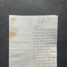 Manuscritos antigos: 1804 - JOSÉ DE GODOY - VICENTE DE CAÑAS PORTOCARRERO - SOBRE LOS PRIVILEGIOS Y GRACIAS DEL MARQUÉS. Lote 263872600