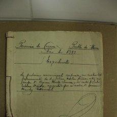 Manuscritos antiguos: ESCRITURA EN MIRA - CUENCA AÑO 1923 - 16 FOLIOS MUY BIEN CONSERVADOS. REF.76. Lote 264332420
