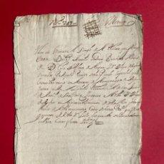 Manuscritos antiguos: AÑO 1612 - SUCESIÓN DEL MAYORAZGO DE LOS LUJAN - MADRID -. Lote 265478029