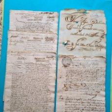 Manuscritos antiguos: SEVILLA SIGLO XVI 3 DOCUMENTOS VENTA CASA CALLE SIERPES DISTINTOS AÑOS 1533 1540 Y 1541 + APEO 1755. Lote 265768319