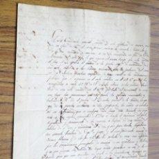 Manuscrits anciens: DOCUMENTO 1827 LA HABANA -- COMANDANTE GENERAL SEGUNDO - MARINA – CAÑONES – ARMAS DE CHISPA. Lote 266125813