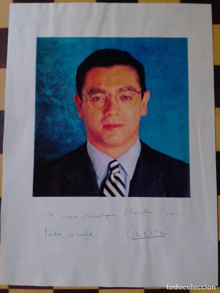 Manuscritos antiguos: Autógrafo original Alberto Ruiz Gallardon, exalcalde de Madrid y exministro de España - Foto 3 - 266603128