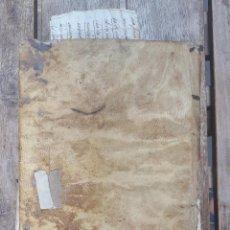 Manoscritti antichi: INTERESANTE MANUSCRITO VILLA DE IBI. S. XVIII- XIX. ENCUADERNADO EN PERGAMINO.. Lote 267738744
