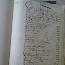 Manuscrits anciens: BARÓN DE BENIFAYÓ, EXEQUIAS FÚNEBRES PASCUAL FALCÓ, ONTENIENTE,1802, CUADERNO CON 20 DOCUMENTOS. Lote 268033229