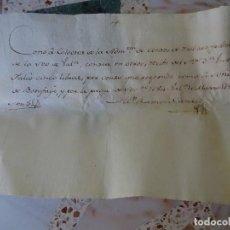Manuscrits anciens: VALENCIA RECIBO DEL COLECTOR DE LA SEO A VICENTE FALCÓ SEÑOR DE BENIFAYÓ. Lote 268040569