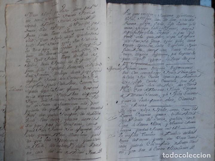 Manuscritos antiguos: MANUSCRITO AÑO 1735 FISCALES 2º RARO Y LUJO MEDINA DEL CAMPO VALLADOLID CENSO REDIMIDO 18 PAGS - Foto 2 - 269028354