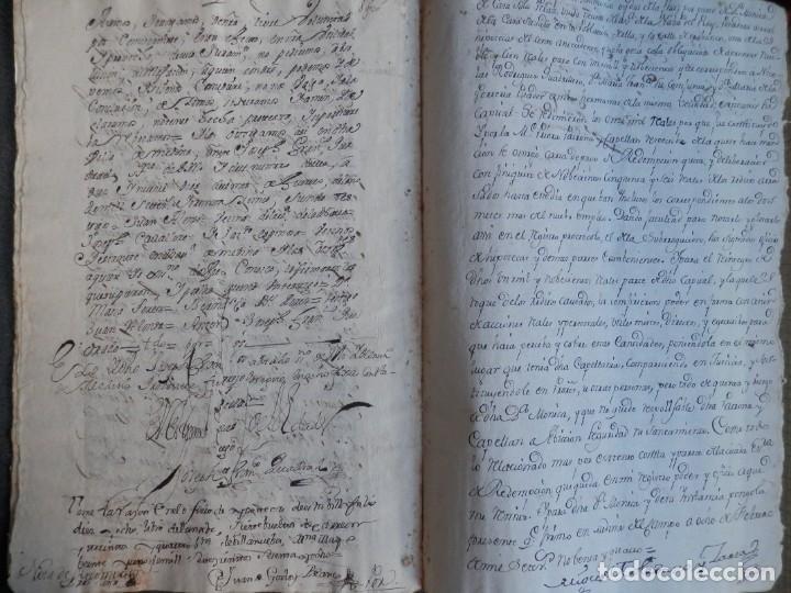 Manuscritos antiguos: MANUSCRITO AÑO 1735 FISCALES 2º RARO Y LUJO MEDINA DEL CAMPO VALLADOLID CENSO REDIMIDO 18 PAGS - Foto 3 - 269028354
