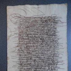 Manoscritti antichi: MANUSCRITO SIGLO XVI FUENTEOVEJUNA - FUENTE OBEJUNA CÓRDOBA CENSO - PALEOGRAFÍA. Lote 269102053