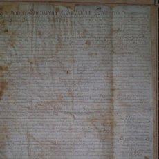 Manuscritos antiguos: DOCUMENTO MANUSCRITO EN LATIN REFORMA TRINITARIA SIGLO XVII. Lote 269164998