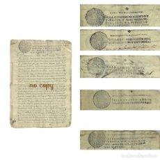 Manuscritos antiguos: DOCUMENTOS DE VECINOS DE OLMEDILLA DE ALARCÓN (CUENCA) 1713. Lote 193677628