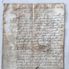 Manuscritos antiguos: MANUSCRITO DEL RECTOR DE SANT BARTOMEU ALBINYANA Y SANTJOAN DE RODONYA 1655.. Lote 271805908
