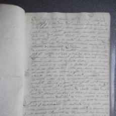 Manuscritos antiguos: MANUSCRITO AÑO 1835 SANTA MARINA DE ALBIXOI - A CORUÑA PERITAJE DE 15 PARTIDAS DE MONTES. Lote 271864378